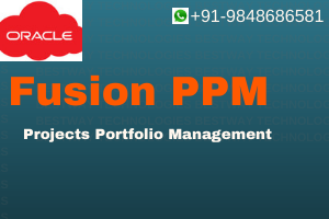 ORACLE Fusion PPM ( Projects Portfolio Management )