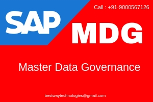 SAP MDG