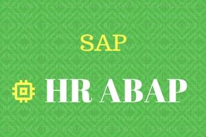 SAP HR-ABAP